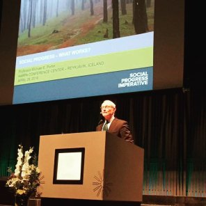 Michael Porter at WWs Icelanda