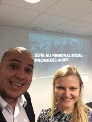 Social Progress Workshop and implementation, Helsinki Finland.