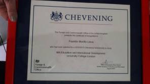 Chevening Scholar