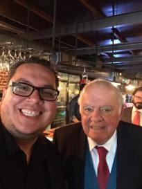 With Enrinque Iglesias former President of IDB
